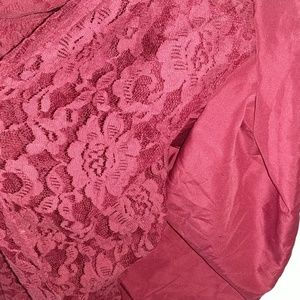 Carter's Dresses - CARTER'S Fancy Lace Dress Burgundy 8